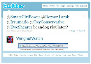 Photo: Neal Rauhauser organizes with 4 now deleted Twitter users: @SmartGirlPOWer, @DemonLamb @Irrumatio & @EweShearer  And finally with his loyal fan,  http://twitter.com/OxyConservative  (who poses as a conservative to make them look bad)