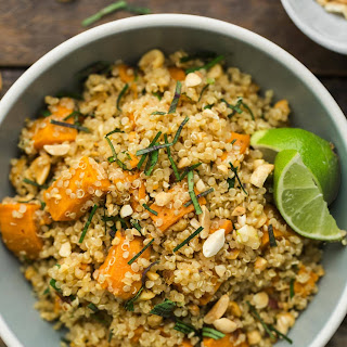 Thai Sweet Potato Quinoa