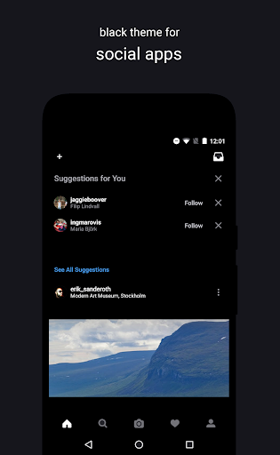 Swift Black Substratum Theme +Oreo & Samsung theme  screenshots 3