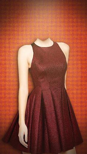女性はドレス写真編集アプリ