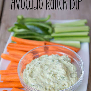 Avocado Ranch Dip