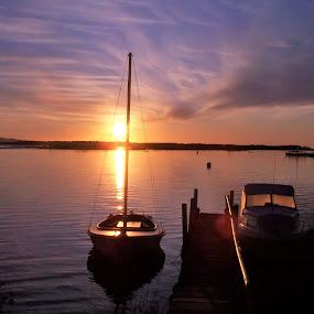 Sunrise Mallacoota by Sarah Harding - Novices Only Landscapes ( nature, novices only, sea, sunrise, landscape,  )