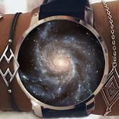 Tải Galaxy Clock Skin miễn phí