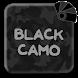 Black Camo Theme for Xperia™