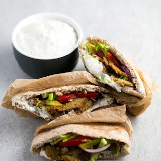 Low Fat Vegan Kebab