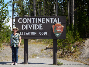 Photo: We crossed the Continental Divide several times