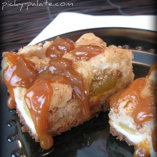 Caramel Apple Cream Cheese Cookie Bars!.