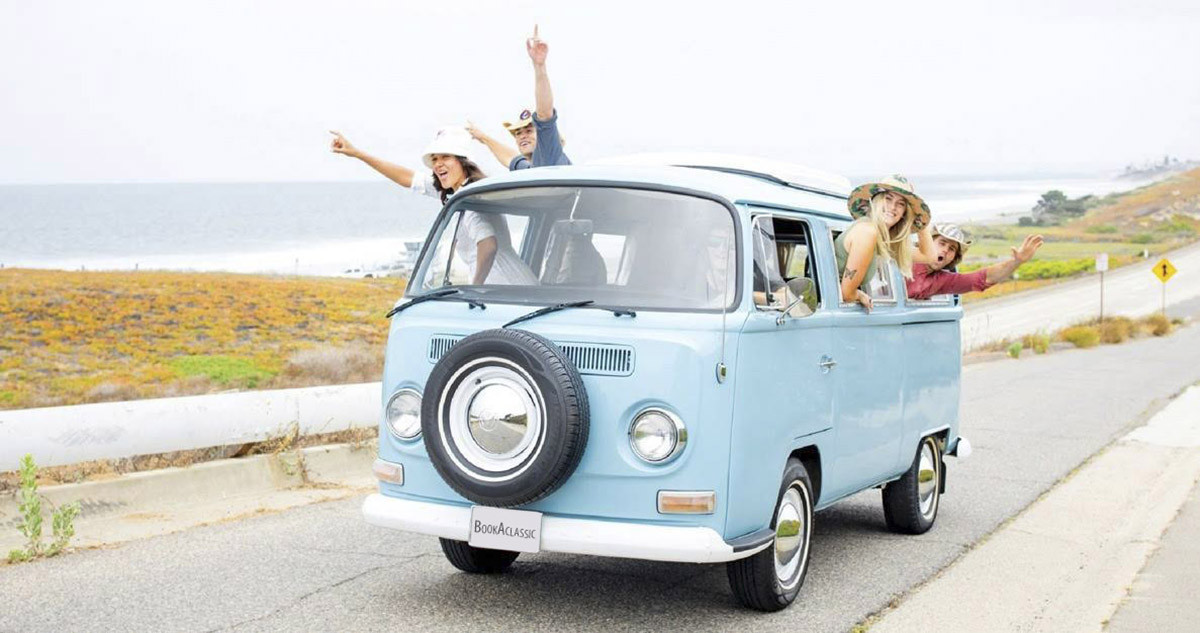 1968 VW Bus Hire Encinitas