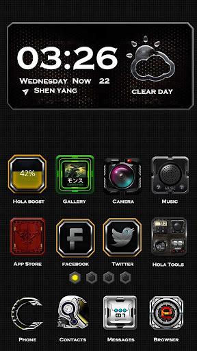 Tech War Hola Launcher Theme