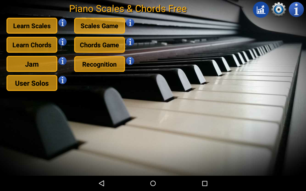 Piano scales chords free android apps on google play piano scales chords free screenshot hexwebz Images