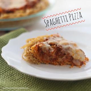 Easy Spaghetti Pizza