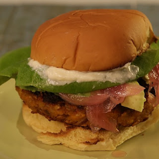Fabulous Sweet Potato Burger