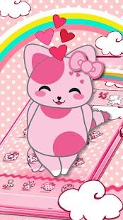 Rosa Pink Kitten Theme - náhled