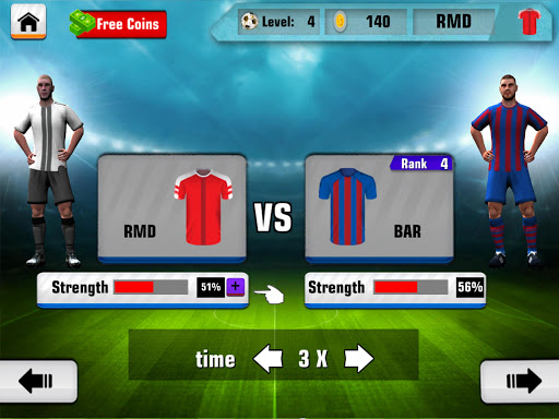 Soccer League Hero 2017 Stars 2.0.0 screenshots 8