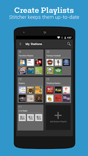 Stitcher Radio for Podcasts- screenshot thumbnail