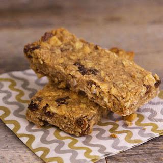 Bob Harper's Cinnamon Raisin Peanut Butter Protein Bars