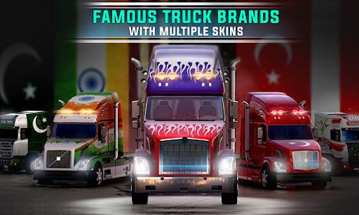 Euro Truck 3D Simulator 2019 Cargo Truck Transport 1.8 Mod + Data Download 1