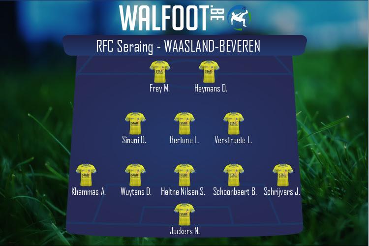 Waasland-Beveren (RFC Seraing - Waasland-Beveren)