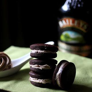 Baileys Irish Cream Oreo Cookies.
