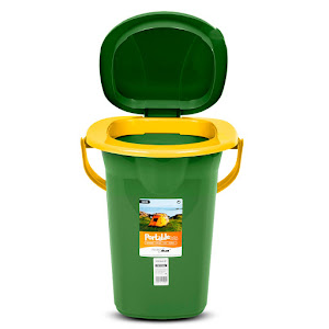 Toaleta portabila turistica camping GreenBlue, GB320BL V, 19 litri