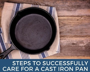 Steps To Successfully Care For A Cast Iron Pan Recipe