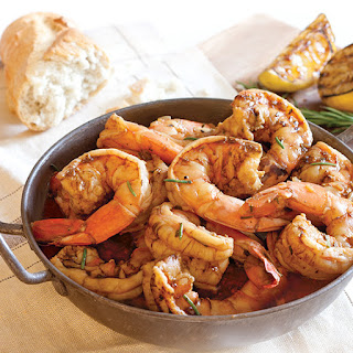 New Orleans Barbecue Shrimp.