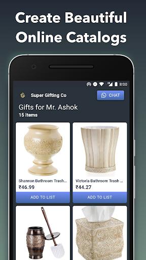 QuickSell: WhatsApp Digital Cataloguing and Sales 0.10.79 screenshots 1