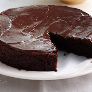 Lactose, Egg And Gluten Free Chocolate Cake.