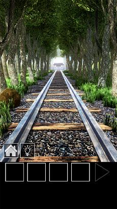 脱出ゲーム 電車のある道のおすすめ画像1