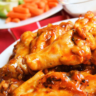 Grilled Guiltless Buffalo Wings