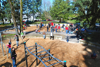 Photo: 2012 egg hunt and park playground and spray - 50