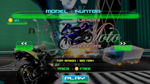 Super Moto Shooting Cars