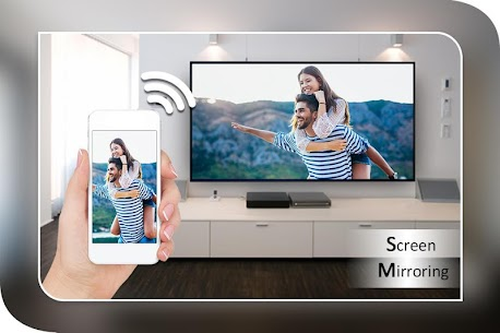Screen Mirroring with TV : Mobile Screen to TV App Latest Version  Download For Android 4