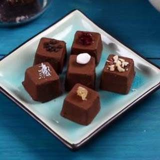 DIY chocolates.