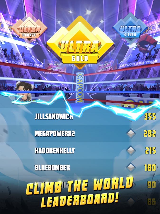 Puzzle Fighter- screenshot