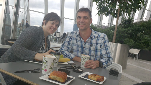 Sky garden London Breakfast