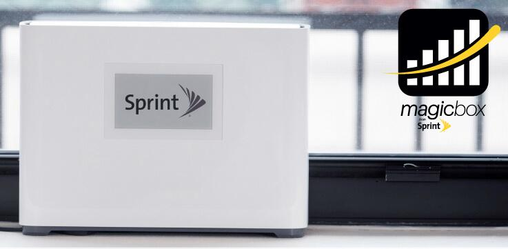 Sprint Signal Booster for improving call