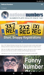 Number Plates- screenshot thumbnail
