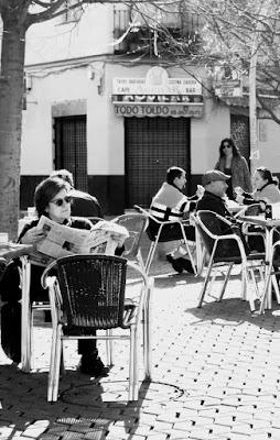 Letture in quel di Siviglia.  di micphotography