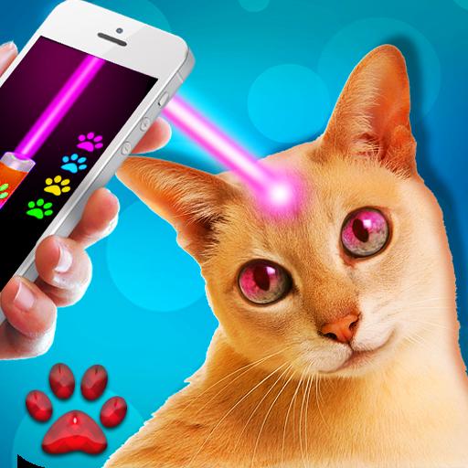 レーザーポインター。猫 模擬 App LOGO-APP開箱王