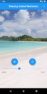 Relaxing Guided Meditation for Rejuvenation - Screenshot