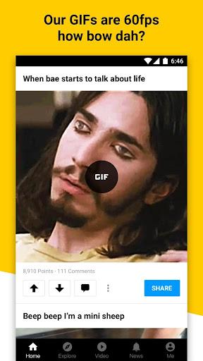 9GAG: Best LOL Pics & GIFs v6.01.00 [Pro]