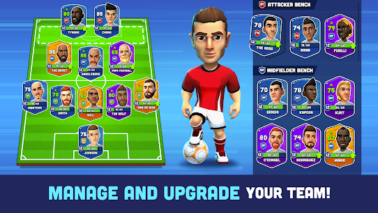 Mini Football – Mobile Soccer (MOD, Unlimited Money) 3