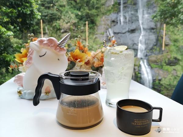 瀑布三號- 透明玻璃屋景觀餐廳│離烏來瀑布最近的網美咖啡店