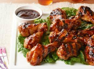 Asian Honey Bbq Chicken Drummettes Recipe