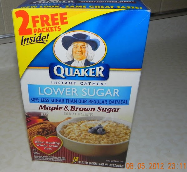 This is the oatmeal I used.