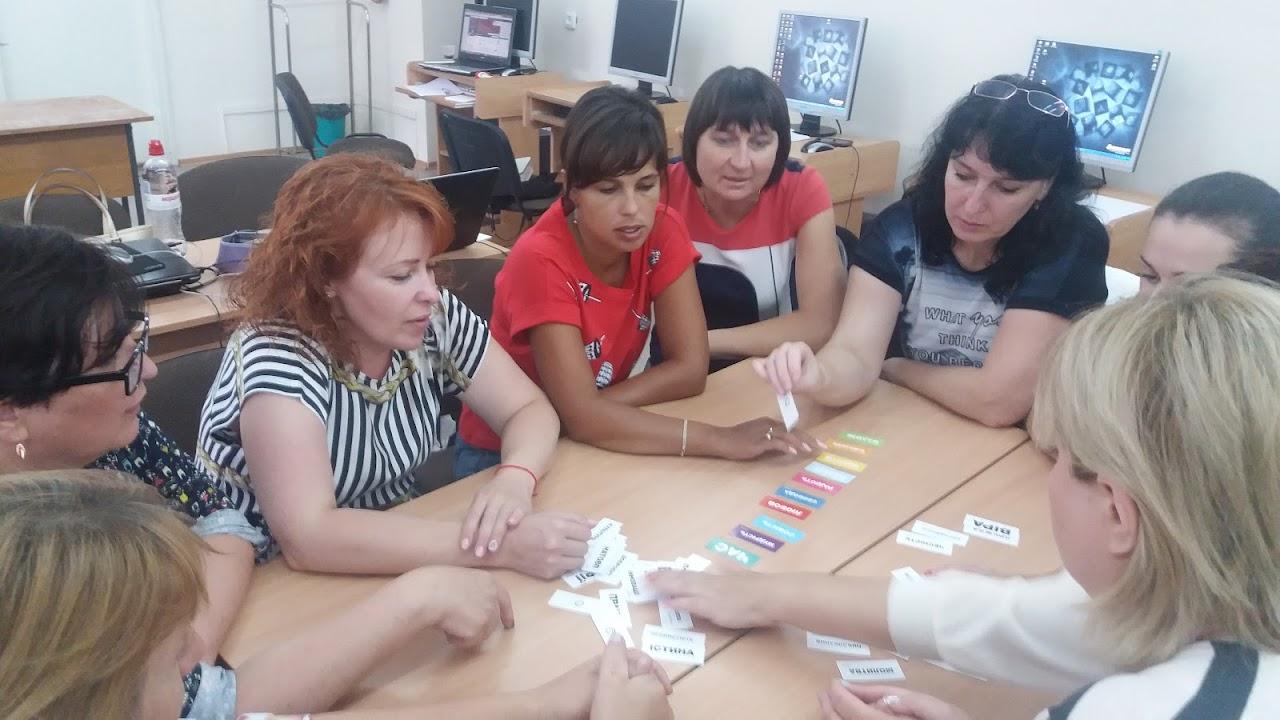 Завершились тренінги з питань використання інформаційно-комунікаційних технологій у професійній діяльності педагогів.
