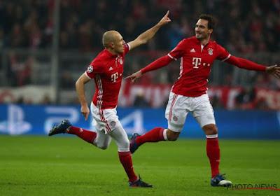 Arjen Robben zette Bayern München 1-0 voor tegen Arsenal