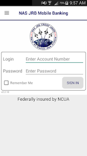 NAS JRB Mobile Banking- screenshot thumbnail