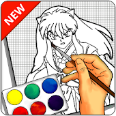 How to Draw Inuyasha - EASY